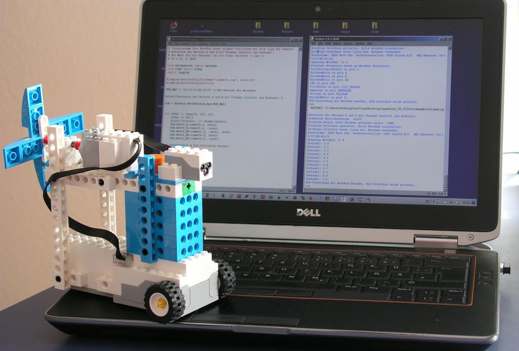 Python und Bluetooth Low Energy lernen mit Lego Boost